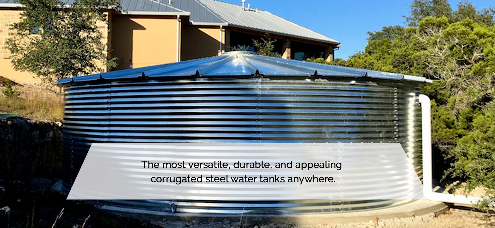 Galvanized Water Tanks - Steel Rainwater Tanks - Steel Water Tanks
