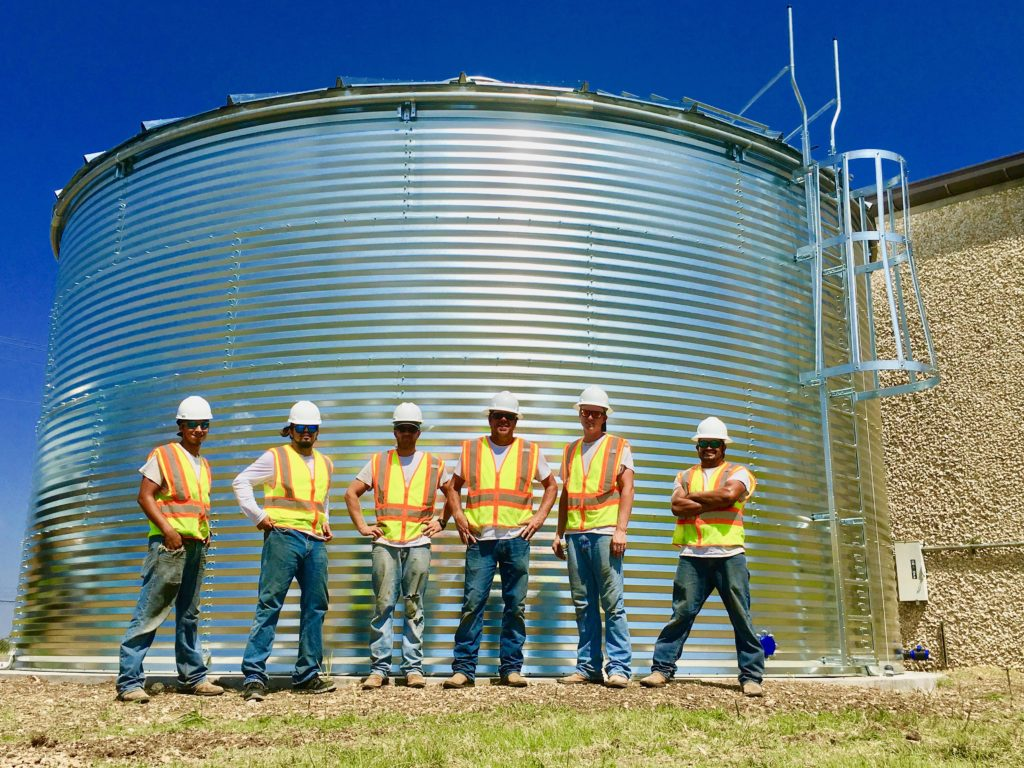 Aqualine Water tanks crew