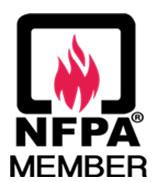 NFPA fire tank logo